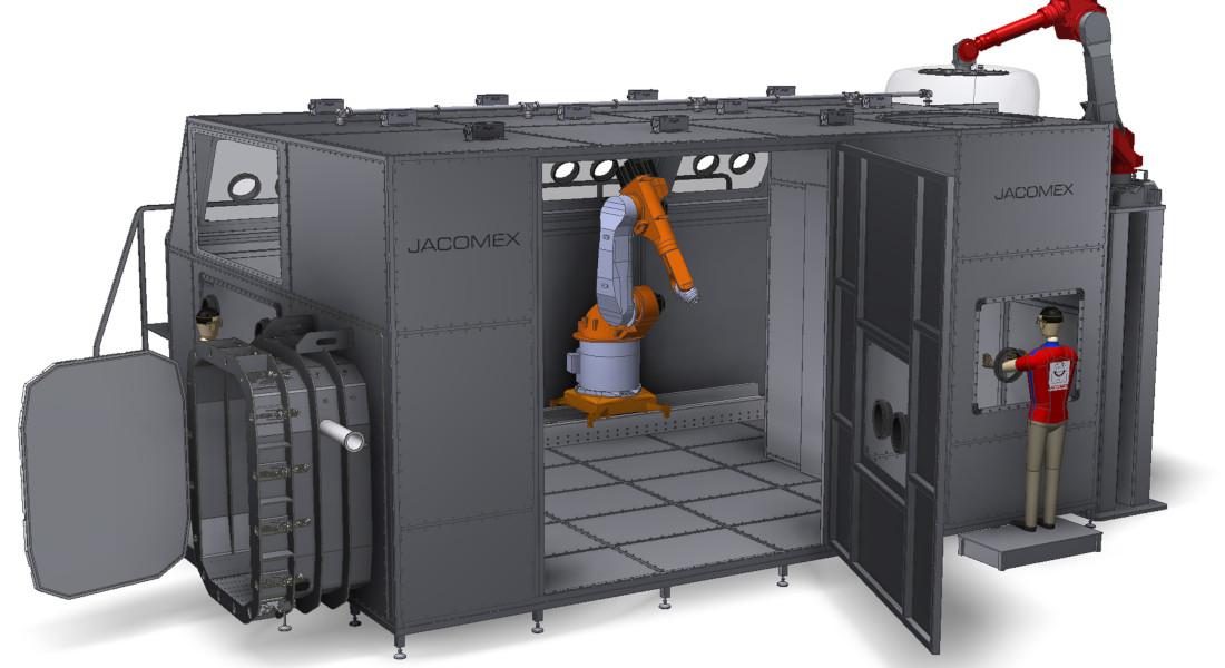 Enceinte de confinement industrielle - Conception et réalisation