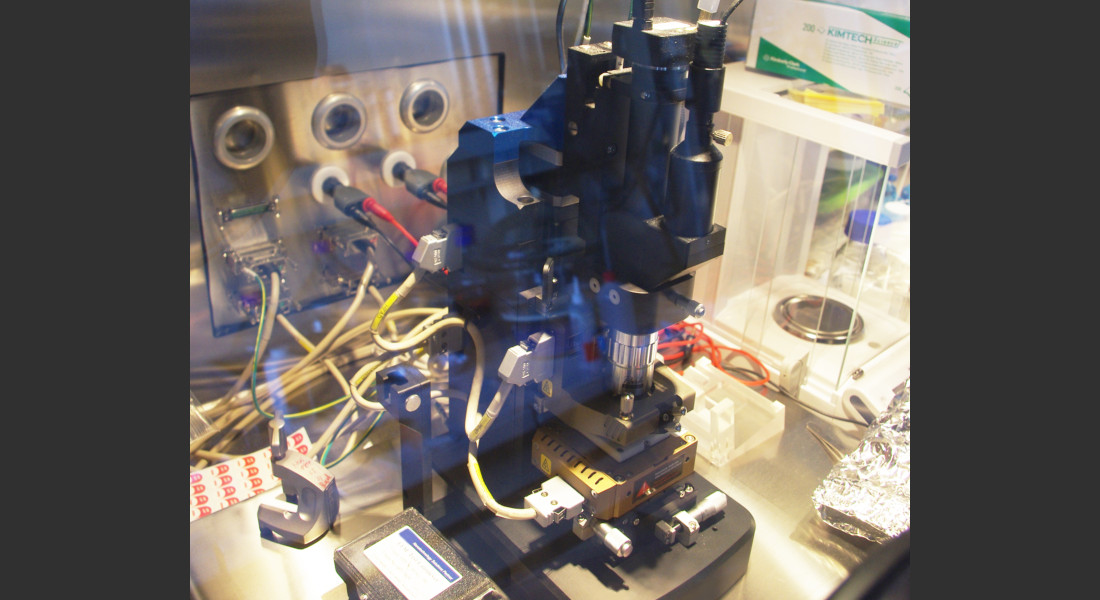 Boîte à gants pour la fabrication et matériaux AFM Box 1