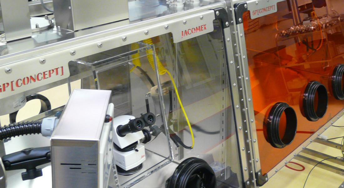 Surface pour boîte à gants pour la fabrication et matériaux