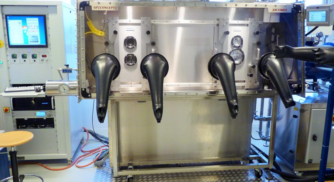boite-gants-laboratoire-recherche-evaporateur-plassys