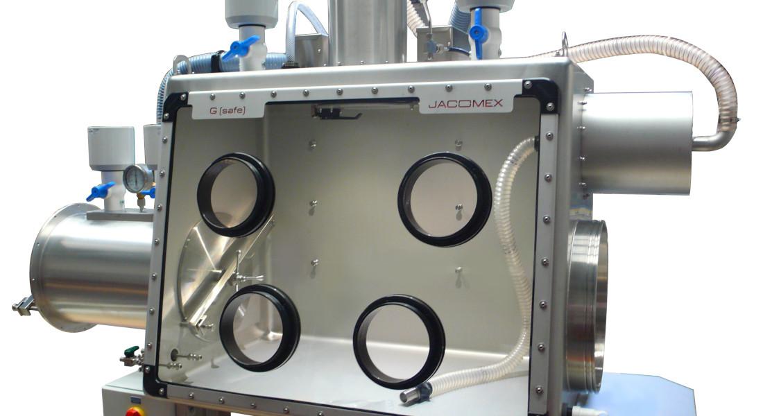 Boîte à gants nucléaire de décontamination