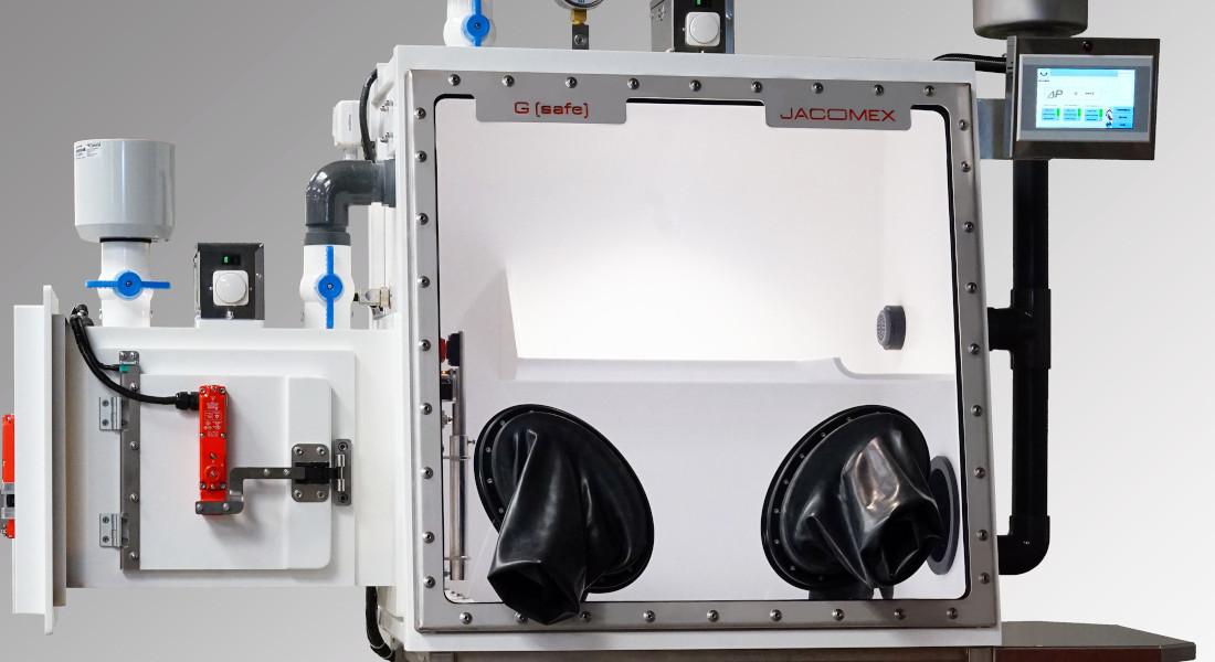 G(Safe) avec Corian - Boîte à gants nucléaire