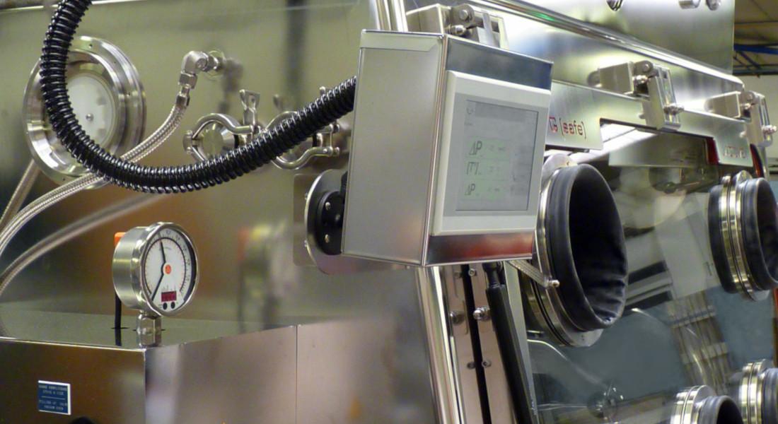 Controle RTP pour boîte à gants - Protection des opérateurs