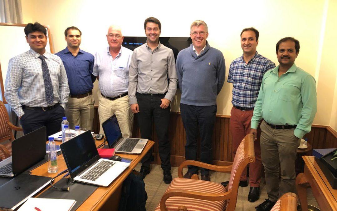 Rencontre avec le personnel de Jacomex Pvt Ltd à Bangalore