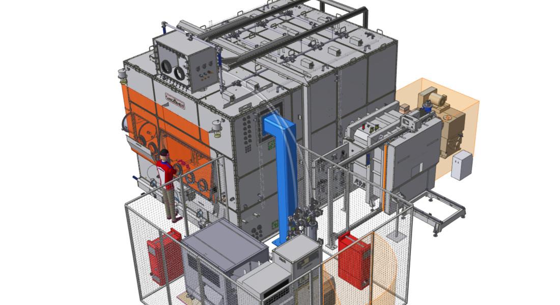 Boîte à gants globale pour la fabrication additive