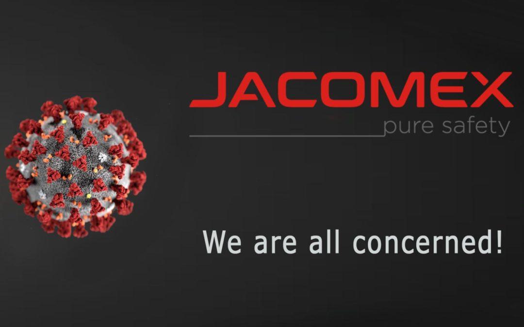 Jacomex - COVID-19 : nous sommes tous concernés