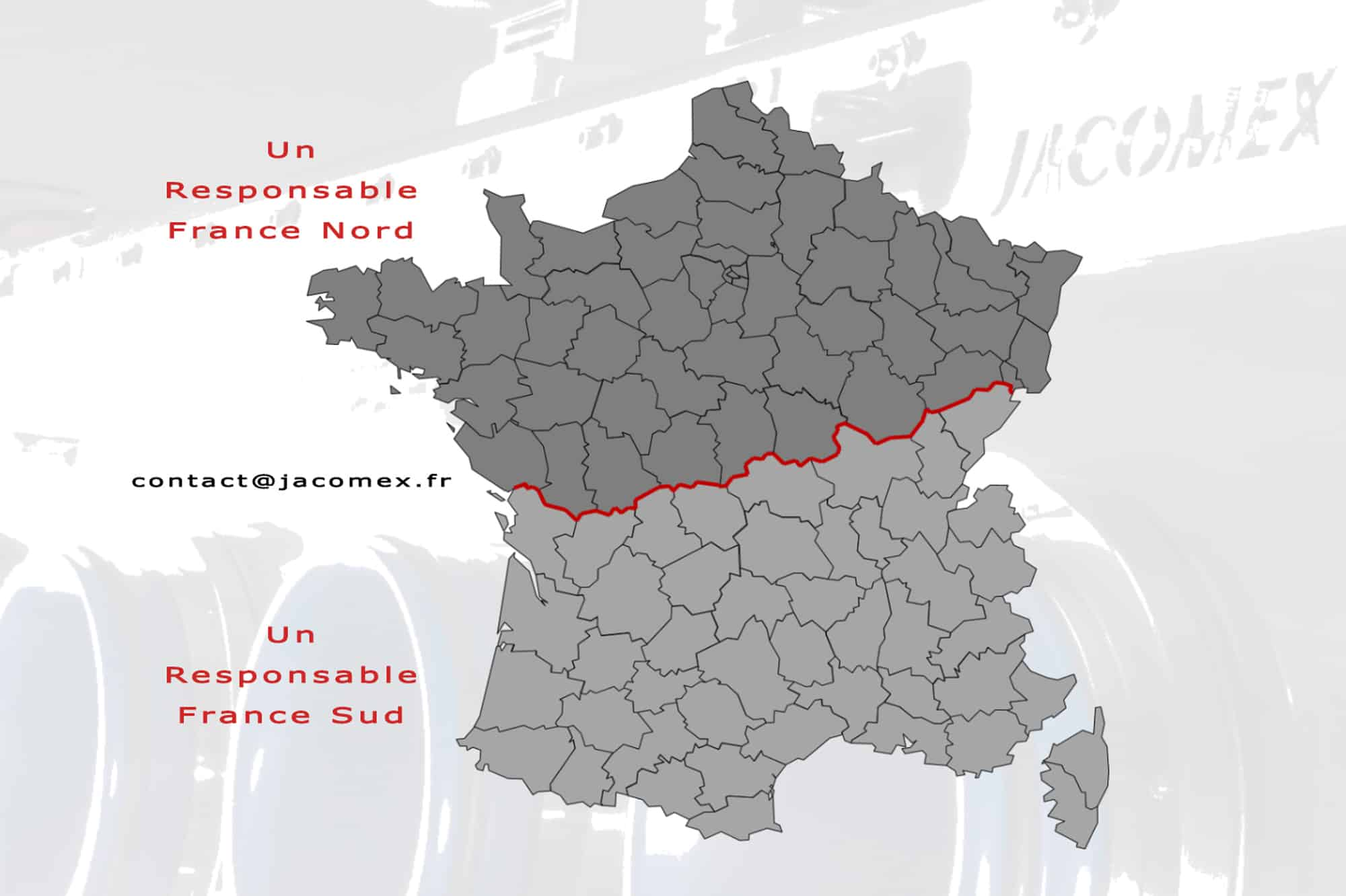 Présence de Jacomex en France