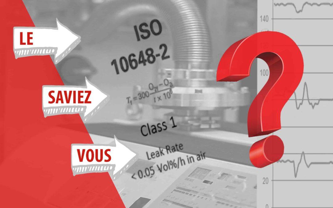 Norme ISO 10648-2 – Enceinte de confinement/boîte à gants