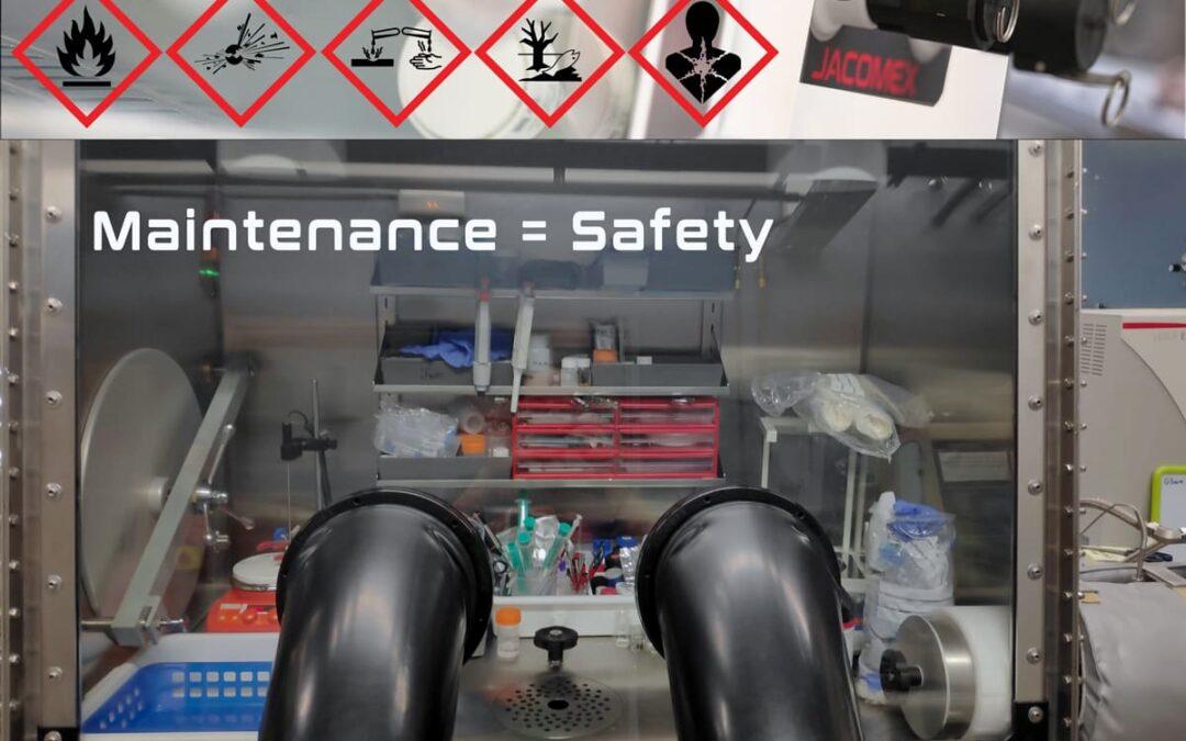La maintenance préventive de sa boîte à gants est un acte important pour la sécurité et l'environnement!